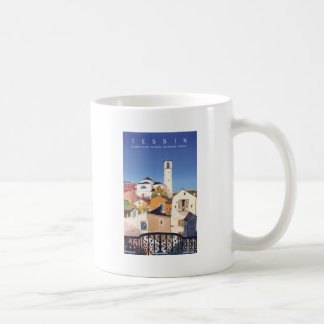 Vintage Ticino Tessin Canton Switzerland Coffee Mug