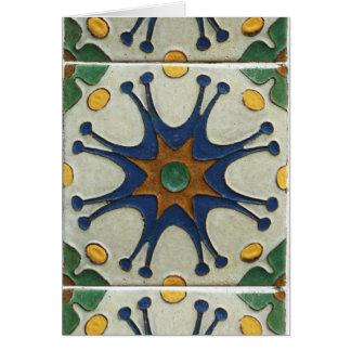 Vintage Tile Card