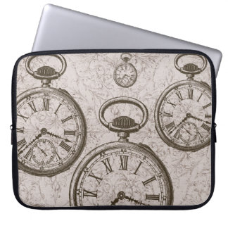 Vintage Time Laptop Sleeve