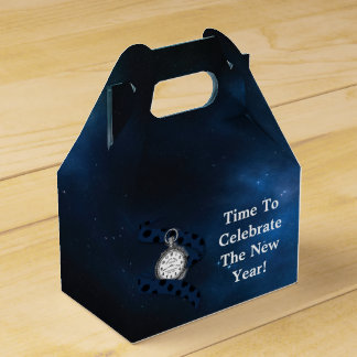 Vintage Time To Celebrate The New Year Favor Box