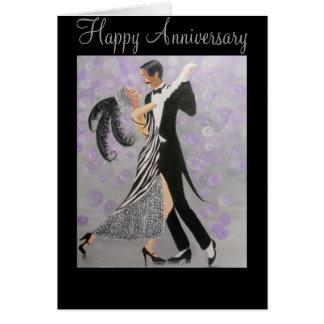 Vintage, Timeless Love, anniversary card