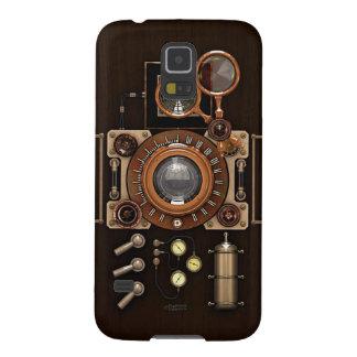 Vintage TLR Camera Dark Edition Case For Galaxy S5