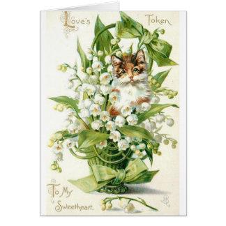 Vintage - To My Sweetheart (Blank Inside), Card