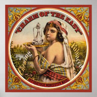 Vintage Tobacco Poster