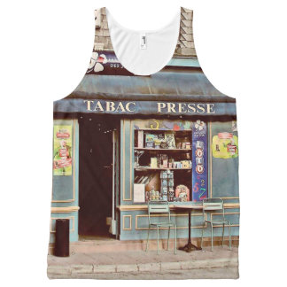 Vintage tobacco shop in France