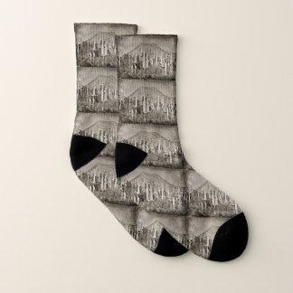 Vintage Tonto Saguaro Unisex Socks 1