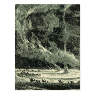 Vintage Tornado Postcard