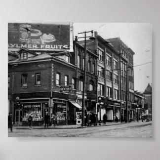 Vintage Toronto, Ontario, Canada Print