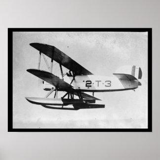 Vintage Torpedo Plane Poster