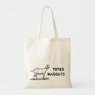 Vintage Totes Magoats Larger text goat reusable
