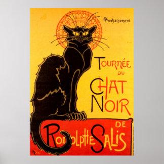 Vintage Tournee de Chat Noir - Black Cat Poster