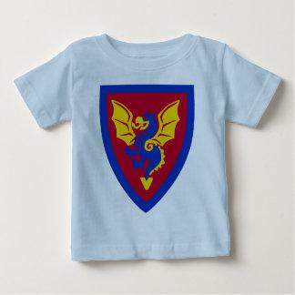 Vintage Toy Brick Knight Shield Logo Baby T-Shirt