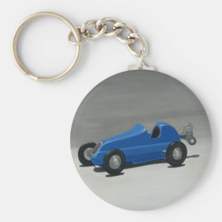 Vintage Toy Race Car Key Chain