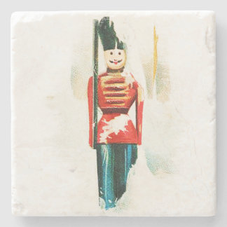 Vintage Toy Soldier Christmas Coaster