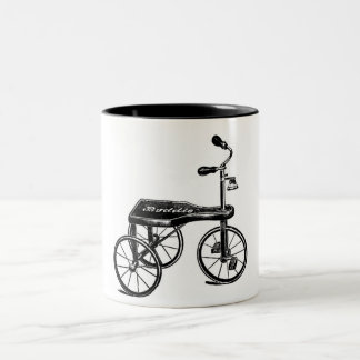Vintage Toy Tricycle Nostalgia Mug
