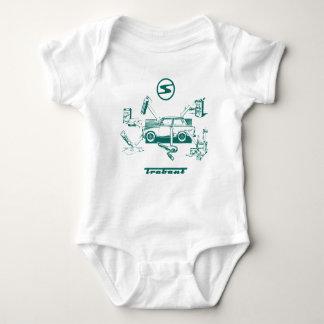 Vintage trabant baby bodysuit