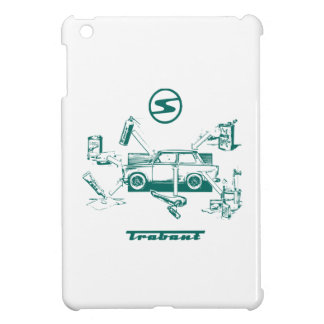 Vintage trabant case for the iPad mini