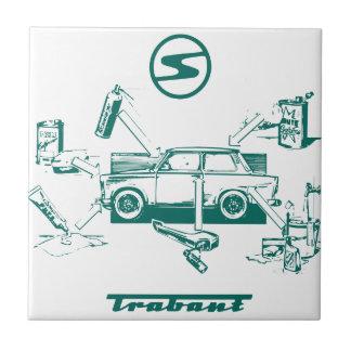 Vintage trabant tile