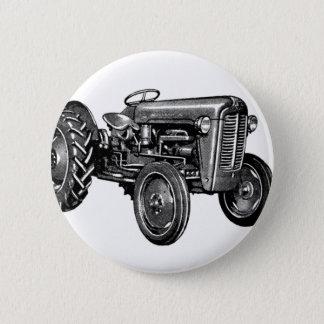 Vintage Tractor 2 Inch Round Button