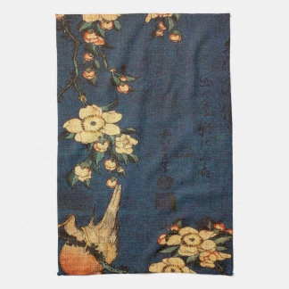 Vintage Traditional Japanese Paper Print Kitchen Towel