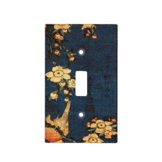 Vintage Traditional Japanese Paper Print Light Switch Cover