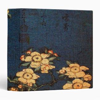 Vintage Traditional Japanese Paper Print Vinyl Binders