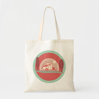 Vintage Trailer Totebag Tote Bag