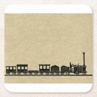 Vintage Train Coasters
