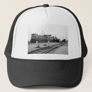 Vintage Train Engine Trucker Hat