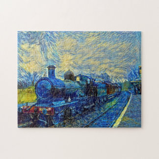 Vintage Train Jigsaw Puzzle