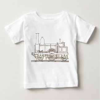 vintage train kids t-shirt