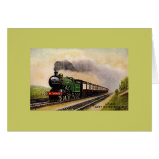 Vintage-Train-West Riding Pullman card