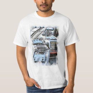 Vintage transport - Town trams T-Shirt