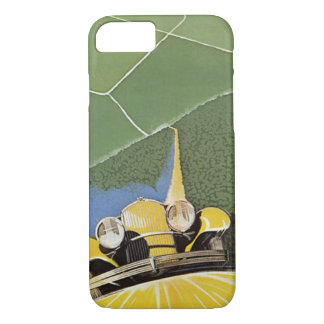 Vintage Transportation, Headlights from a Car iPhone 7 Case