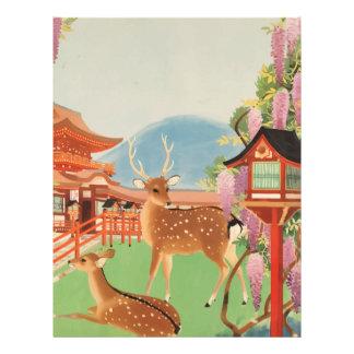 Vintage Travel 1930s Japan Letterhead
