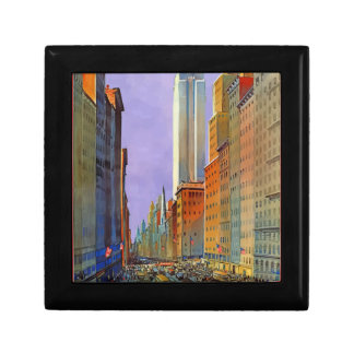 Vintage Travel 5th Avenue New York Gift Box