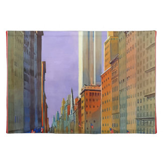 Vintage Travel 5th Avenue New York Placemat