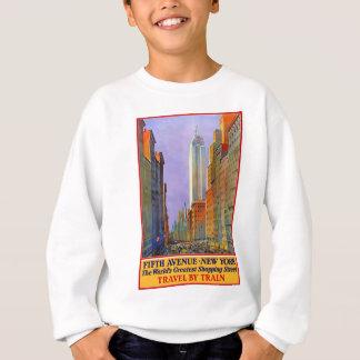 Vintage Travel 5th Avenue New York Sweatshirt