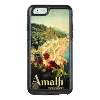 Vintage Travel, Amalfi Italian Coast Beach OtterBox iPhone 6/6s Case