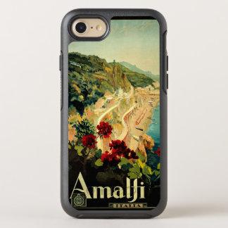 Vintage Travel, Amalfi Italian Coast Beach OtterBox Symmetry iPhone 8/7 Case