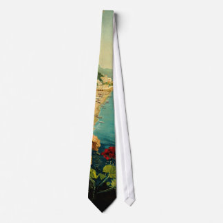 Vintage Travel, Amalfi Italian Coast Beach Tie