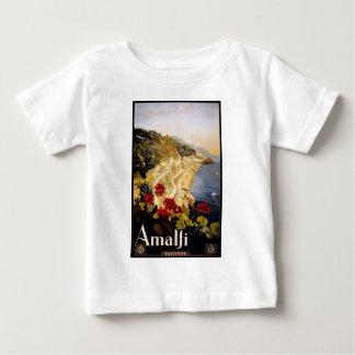 Vintage Travel Amalfi Italy Baby T-Shirt