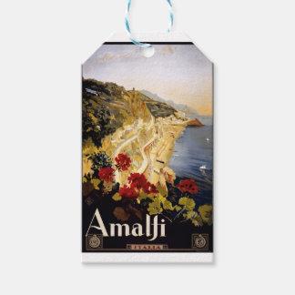 Vintage Travel Amalfi Italy Gift Tags