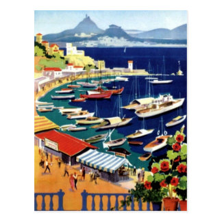 Vintage Travel Athens Greece Postcard