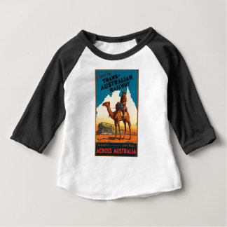 Vintage Travel Australia Baby T-Shirt