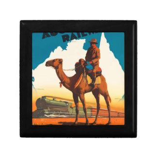 Vintage Travel Australia Gift Box