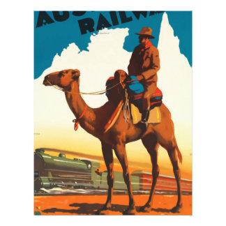 Vintage Travel Australia Letterhead