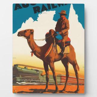 Vintage Travel Australia Plaque