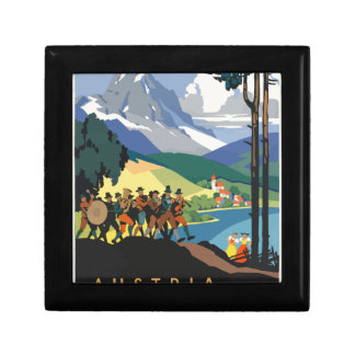 Vintage Travel Austria Gift Box