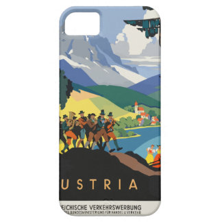 Vintage Travel Austria iPhone 5 Covers